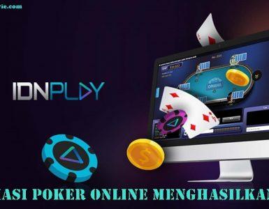Afiliasi Poker Online Menghasilkan Uang