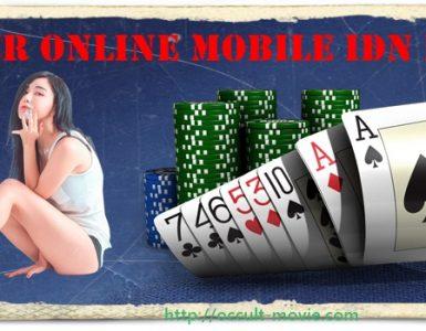 poker online mobile idn play